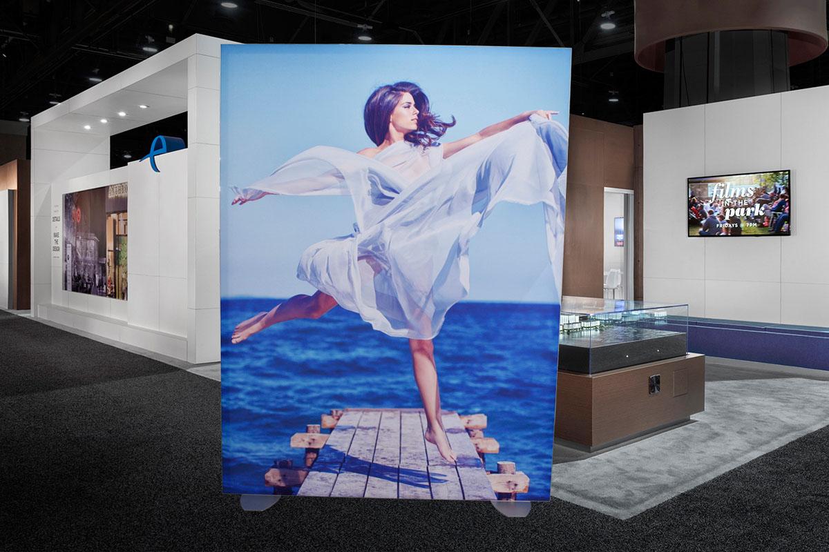 SEG Fabric Signage Goes Big - Fabric Frames